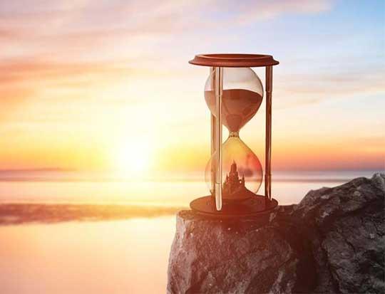 voir le temps qui passe positivement