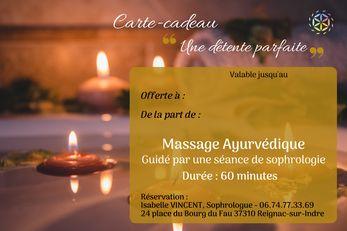 Cadeau massage sophrologie amboise montrichard